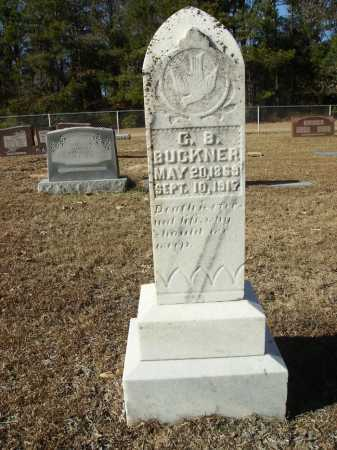 BUCKNER, C B - Union County, Arkansas | C B BUCKNER - Arkansas Gravestone Photos