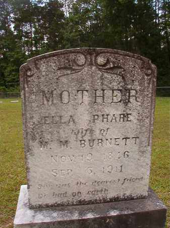 BUIRNETT, ELLA - Union County, Arkansas | ELLA BUIRNETT - Arkansas Gravestone Photos