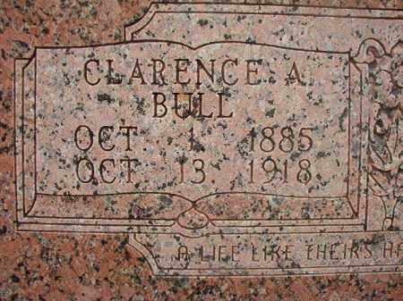 BULL, CLARENCE A - Union County, Arkansas | CLARENCE A BULL - Arkansas Gravestone Photos