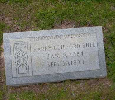 BULL, HARRY CLIFFORD - Union County, Arkansas | HARRY CLIFFORD BULL - Arkansas Gravestone Photos