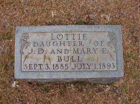 BULL, LOTTIE - Union County, Arkansas | LOTTIE BULL - Arkansas Gravestone Photos