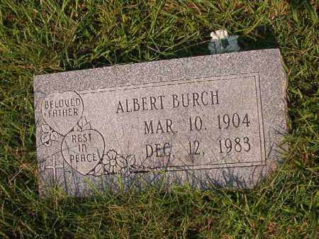 BURCH, ALBERT - Union County, Arkansas | ALBERT BURCH - Arkansas Gravestone Photos