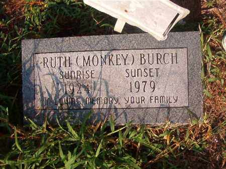 BURCH, RUTH - Union County, Arkansas | RUTH BURCH - Arkansas Gravestone Photos