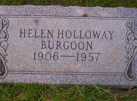 BURGOON, HELEN - Union County, Arkansas | HELEN BURGOON - Arkansas Gravestone Photos