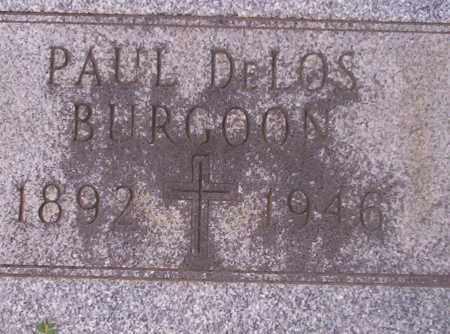 BURGOON, PAUL DELOS - Union County, Arkansas | PAUL DELOS BURGOON - Arkansas Gravestone Photos