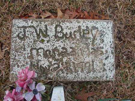 BURLEY, J W - Union County, Arkansas | J W BURLEY - Arkansas Gravestone Photos