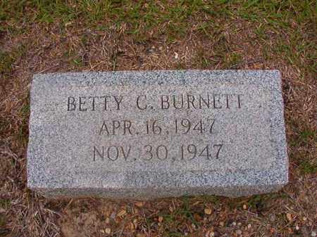 BURNETT, BETTY C - Union County, Arkansas | BETTY C BURNETT - Arkansas Gravestone Photos
