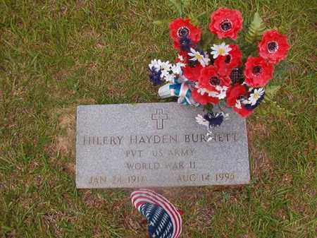 BURNETT (VETERAN WWII), HILERY HAYDEN - Union County, Arkansas | HILERY HAYDEN BURNETT (VETERAN WWII) - Arkansas Gravestone Photos