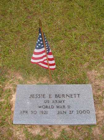 BURNETT (VETERAN WWII), JESSIE E - Union County, Arkansas | JESSIE E BURNETT (VETERAN WWII) - Arkansas Gravestone Photos