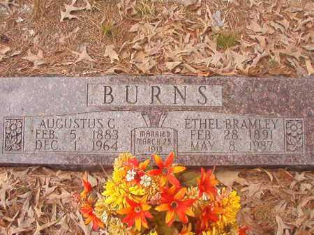 BURNS, AUGUSTUS C - Union County, Arkansas | AUGUSTUS C BURNS - Arkansas Gravestone Photos