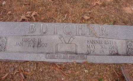 ESTES BUTCHER, FANNIE - Union County, Arkansas | FANNIE ESTES BUTCHER - Arkansas Gravestone Photos