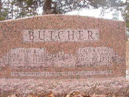 BUTCHER, LAURA - Union County, Arkansas | LAURA BUTCHER - Arkansas Gravestone Photos
