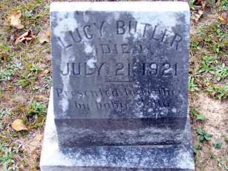 BUTLER, LUCY - Union County, Arkansas   LUCY BUTLER - Arkansas Gravestone Photos