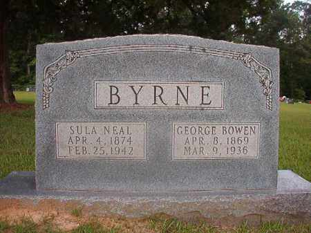 NEAL BYRNE, SULA - Union County, Arkansas | SULA NEAL BYRNE - Arkansas Gravestone Photos