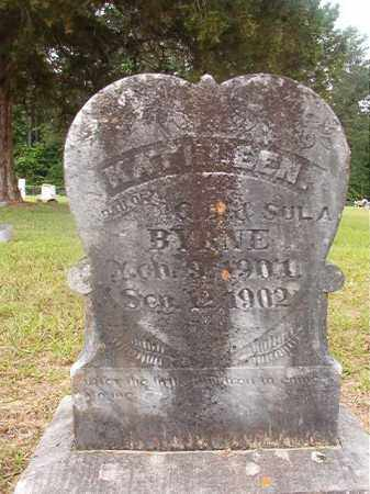 BYRNE, KATHLEEN - Union County, Arkansas | KATHLEEN BYRNE - Arkansas Gravestone Photos
