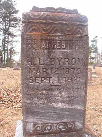 BYROM, H L - Union County, Arkansas | H L BYROM - Arkansas Gravestone Photos
