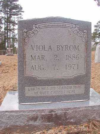 BYROM, VIOLA - Union County, Arkansas | VIOLA BYROM - Arkansas Gravestone Photos