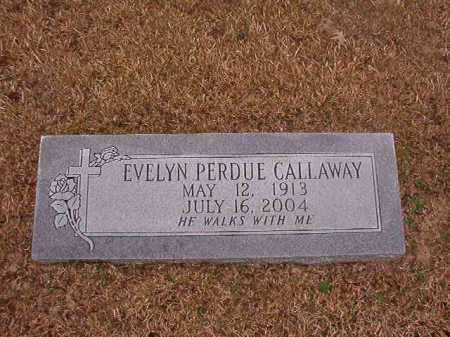 PERDUE CALLAWAY, EVELYN - Union County, Arkansas | EVELYN PERDUE CALLAWAY - Arkansas Gravestone Photos