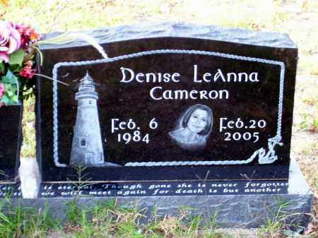 CAMERON, DENISE LEANNA - Union County, Arkansas | DENISE LEANNA CAMERON - Arkansas Gravestone Photos
