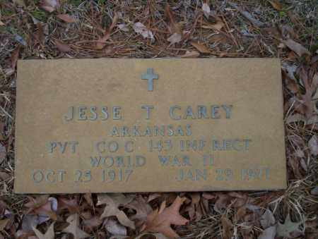 CAREY (VETERAN WWII), JESSE T - Union County, Arkansas | JESSE T CAREY (VETERAN WWII) - Arkansas Gravestone Photos