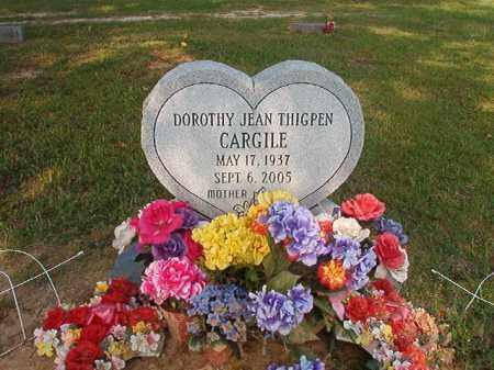 CARGILE, DOROTHY JEAN - Union County, Arkansas | DOROTHY JEAN CARGILE - Arkansas Gravestone Photos