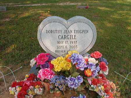 THIGPEN CARGILE, DOROTHY JEAN - Union County, Arkansas | DOROTHY JEAN THIGPEN CARGILE - Arkansas Gravestone Photos
