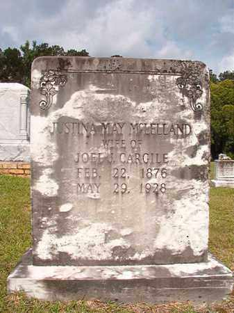 MCLELLAND CARGILE, JUSTINE MAY - Union County, Arkansas | JUSTINE MAY MCLELLAND CARGILE - Arkansas Gravestone Photos