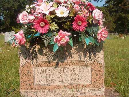 CARTER, MERLE LEE - Union County, Arkansas | MERLE LEE CARTER - Arkansas Gravestone Photos