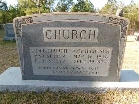 CHURCH, LUM C - Union County, Arkansas | LUM C CHURCH - Arkansas Gravestone Photos