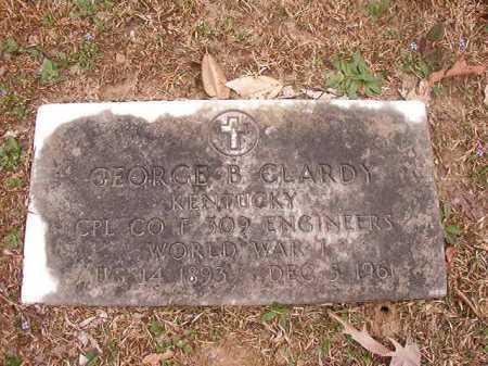 CLARDY (VETERAN WWI), GEORGE B - Union County, Arkansas | GEORGE B CLARDY (VETERAN WWI) - Arkansas Gravestone Photos