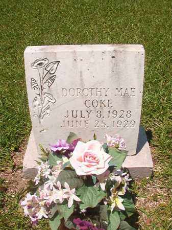 COKE, DOROTHY MAE - Union County, Arkansas | DOROTHY MAE COKE - Arkansas Gravestone Photos