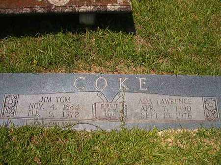LAWRENCE COKE, ADA - Union County, Arkansas | ADA LAWRENCE COKE - Arkansas Gravestone Photos