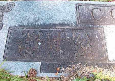 COKE, MARY ELIZA - Union County, Arkansas | MARY ELIZA COKE - Arkansas Gravestone Photos