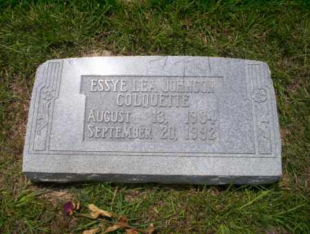 COLQUETTE, ESSYE LEA - Union County, Arkansas | ESSYE LEA COLQUETTE - Arkansas Gravestone Photos