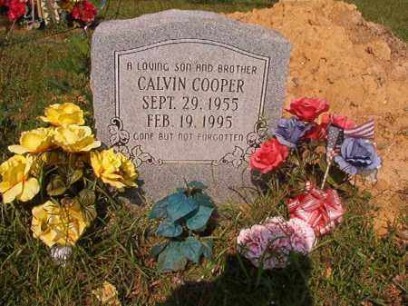 COOPER, CALVIN - Union County, Arkansas | CALVIN COOPER - Arkansas Gravestone Photos
