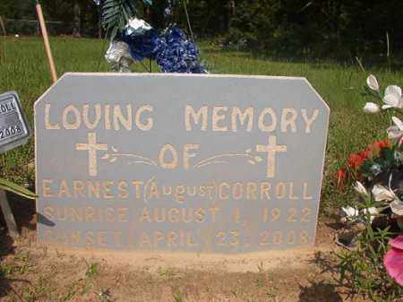 CORROLL, EARNEST (AUGUST) - Union County, Arkansas | EARNEST (AUGUST) CORROLL - Arkansas Gravestone Photos