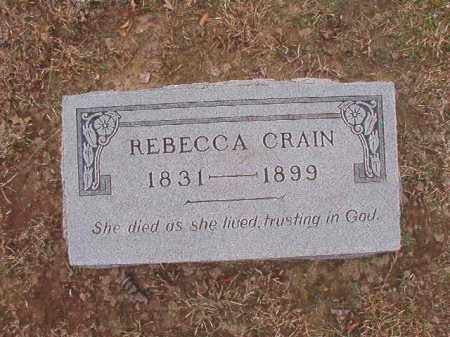 CRAIN, REBECCA - Union County, Arkansas | REBECCA CRAIN - Arkansas Gravestone Photos