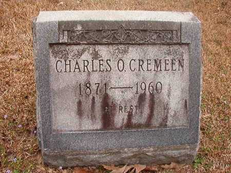 CREMEEN, CHARLES O - Union County, Arkansas | CHARLES O CREMEEN - Arkansas Gravestone Photos