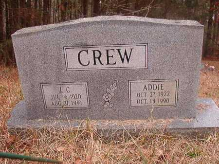 CREW, J C - Union County, Arkansas | J C CREW - Arkansas Gravestone Photos