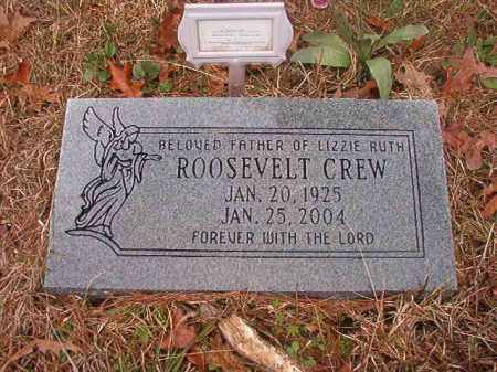 CREW, ROOSEVELT - Union County, Arkansas | ROOSEVELT CREW - Arkansas Gravestone Photos