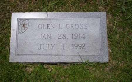CROSS, OLEN L - Union County, Arkansas | OLEN L CROSS - Arkansas Gravestone Photos