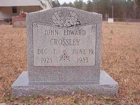 CROSSLEY, JOHN EDWARD - Union County, Arkansas | JOHN EDWARD CROSSLEY - Arkansas Gravestone Photos