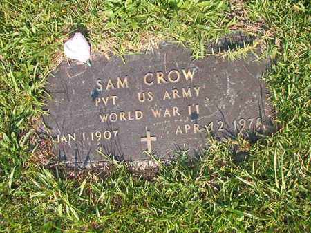 CROW (VETERAN WWII), SAM - Union County, Arkansas | SAM CROW (VETERAN WWII) - Arkansas Gravestone Photos