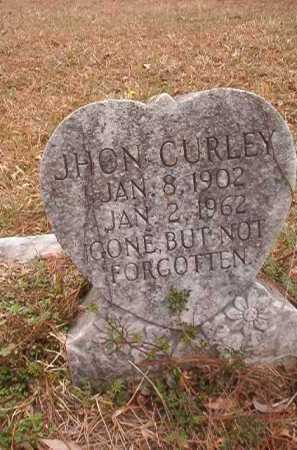 CURLEY, JHON - Union County, Arkansas | JHON CURLEY - Arkansas Gravestone Photos