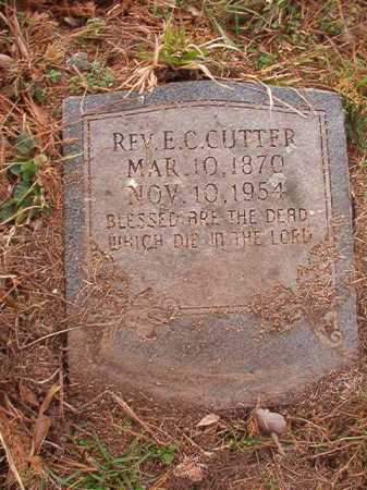 CUTTER, REV, E C - Union County, Arkansas | E C CUTTER, REV - Arkansas Gravestone Photos