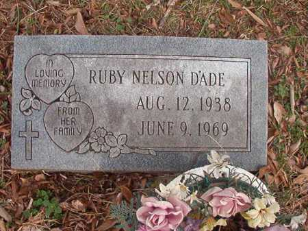 DADE, RUBY - Union County, Arkansas | RUBY DADE - Arkansas Gravestone Photos