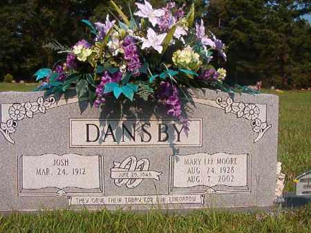 DANSBY, MARY LEE - Union County, Arkansas | MARY LEE DANSBY - Arkansas Gravestone Photos