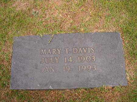 DAVIS, MARY T - Union County, Arkansas | MARY T DAVIS - Arkansas Gravestone Photos