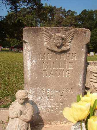 DAVIS, MILLIE - Union County, Arkansas | MILLIE DAVIS - Arkansas Gravestone Photos