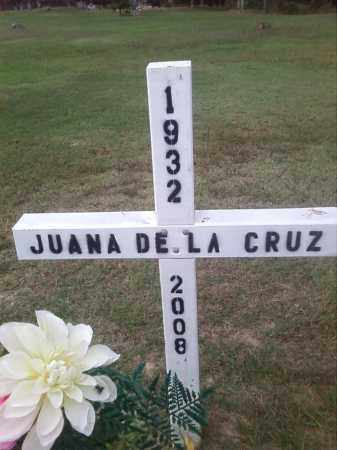 DE LA CRUZ, JUANA - Union County, Arkansas | JUANA DE LA CRUZ - Arkansas Gravestone Photos